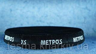 """Резинка для подтяжек 30 мм чёрная """"metros"""""""