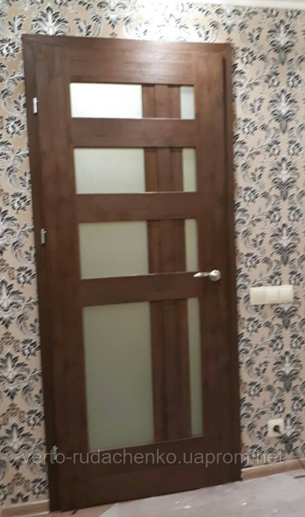 """Двери Verto Лада-Лофт 6.1 в цвете Вишня """"Резист"""""""