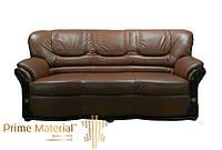 Трехместный кожаный диван Риммини