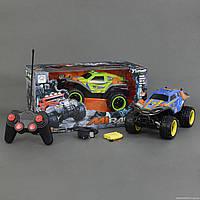 Джип 1333-2 А (12) 2 цвета, р/у, на аккум. 4.8V, резиновые колеса,