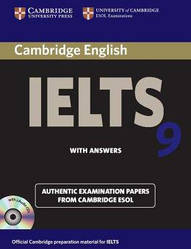 Cambridge English: IELTS 9 Authentic Examination Papers from Cambridge ESOL with answers and Audio CDs