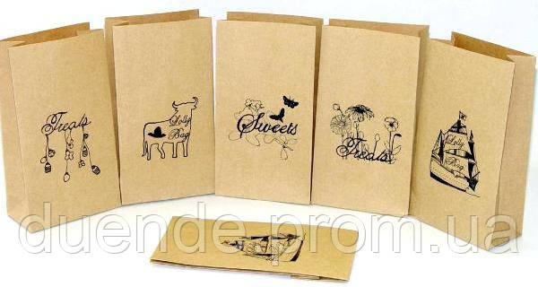 Шелкотрафаретная печать на бумажных пакетах