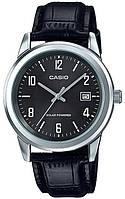 Мужские наручные часы Casio MTP-VS01L-1B2DF черный от солнечного аккумулятора , фото 1