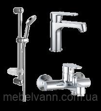 Набор смесителей для ванны IMPRESE Lesna 05070+10070