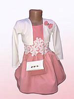 Платье для девочек с болеро (1003/24)