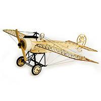 Dancing Wings Hobby Fokker-E 410mm Wingspan Balsa Wood Самолет Статическая модель В разобранном виде