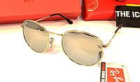 Солнцезащитные очки Ray Ban Baron, Зеркальные, Защита UV-400