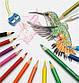 """Карандаши цветные Faber-Castell  48 цветов """"Замок"""" в металлической коробке с аксессуарами, 115888, фото 5"""