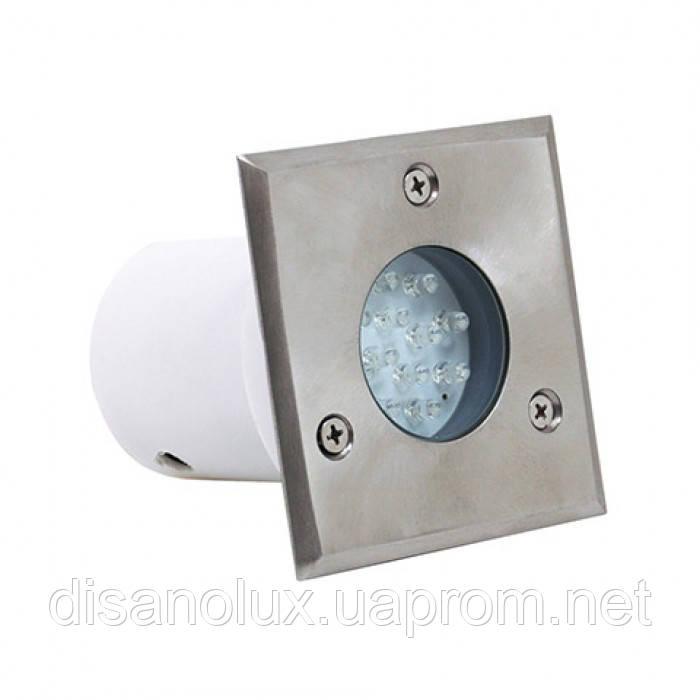 Светильник грунтовый HL 941L 1.2W 230V  IP67  6000К