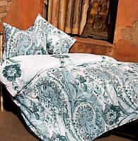 Постельное белье Lotus Premium Madeleine бирюзовое семейный размер (2 пододеяльника)