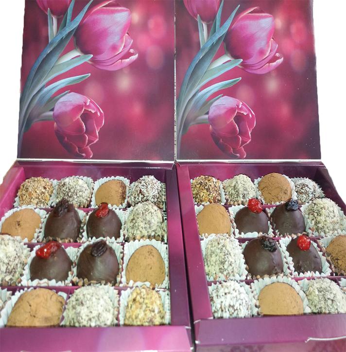"""Шоколадні цукерки """"Трюфель"""" (натуральна сировина, ручна робота)"""