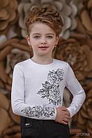 Блуза школьная подростковая для девочки 3674-2-1
