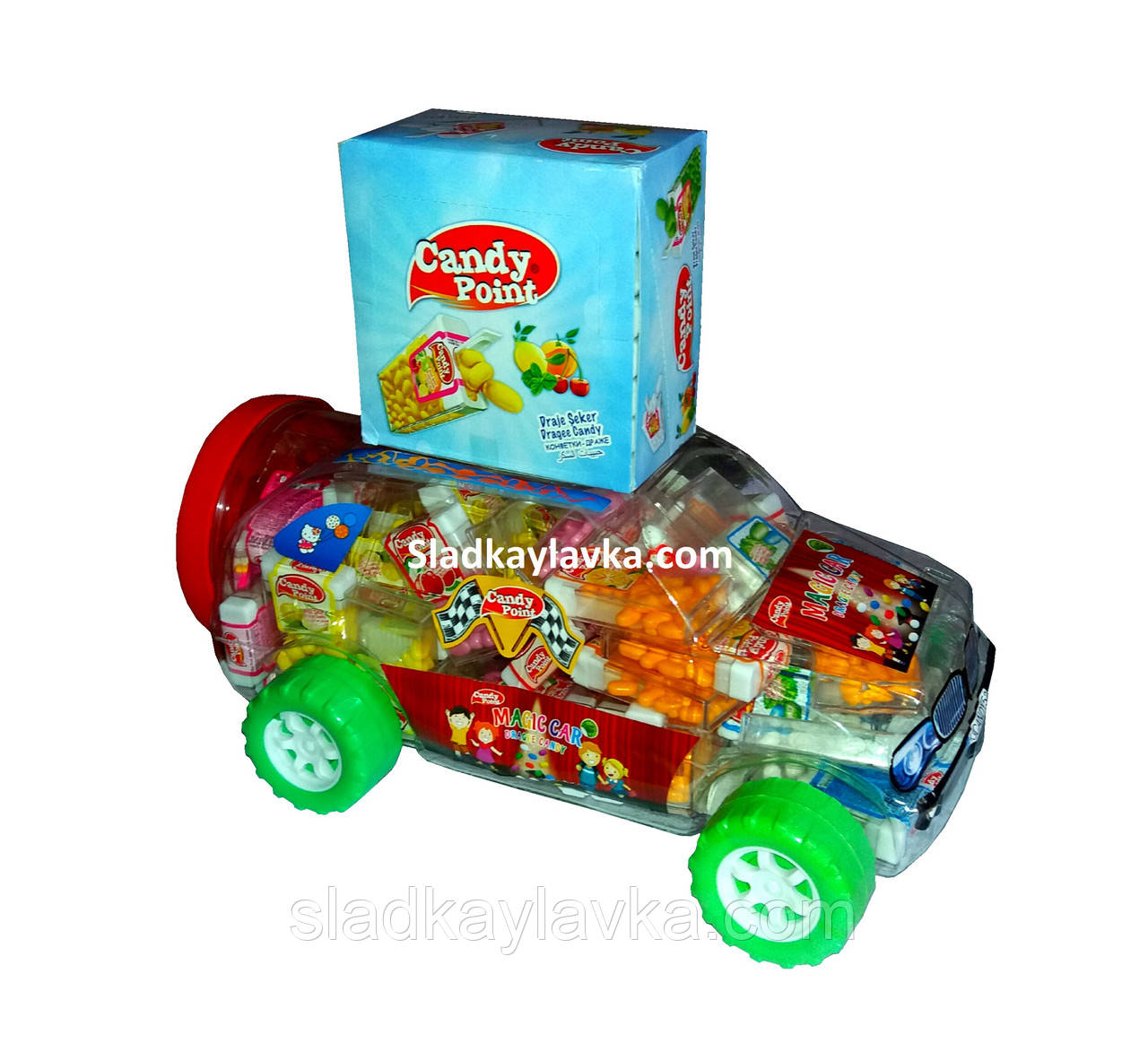 Драже Magic Car 90 шт (Candy Point)
