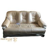 Комплект мягкой мебели Ричард. Трехместный кожаный диван и два кресла
