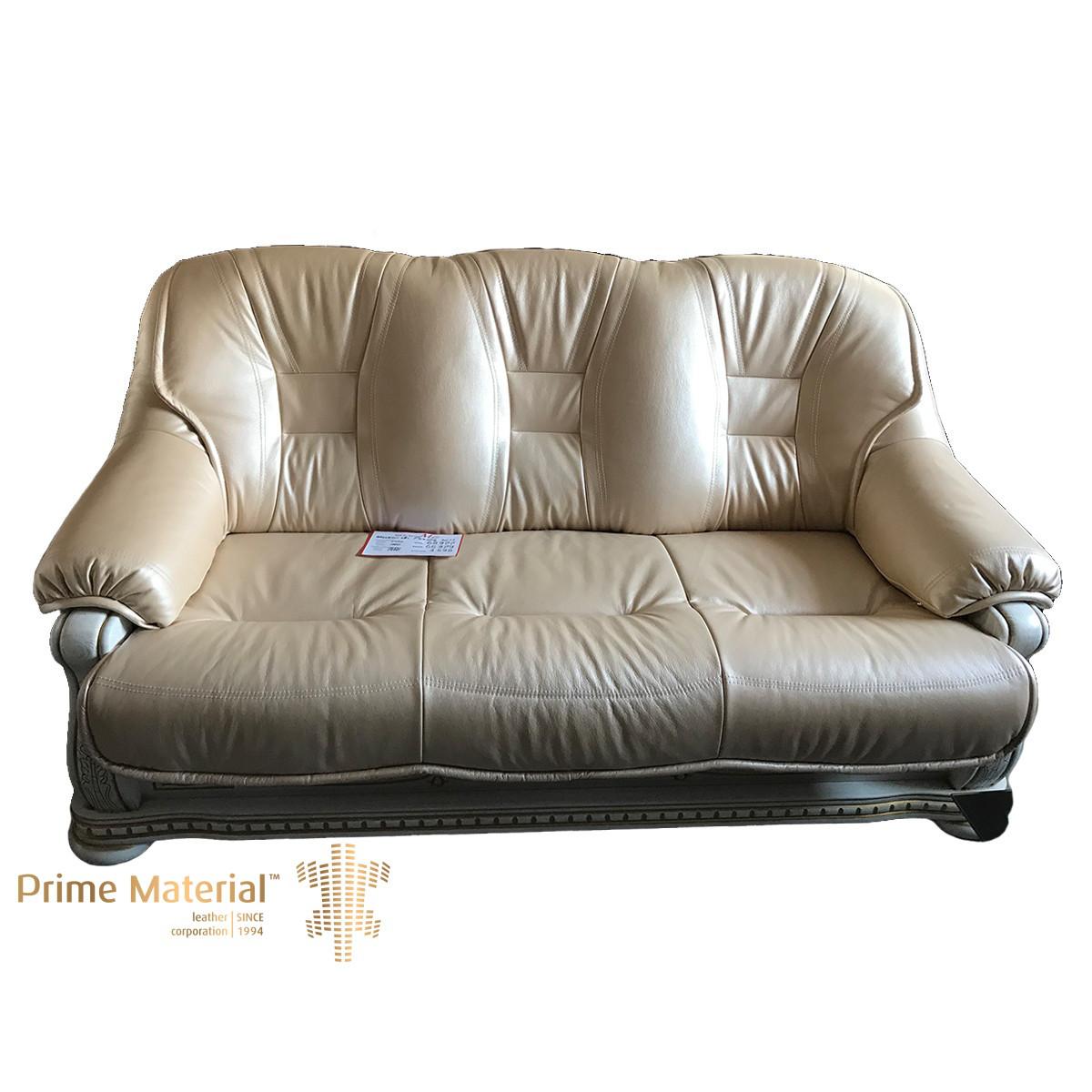 Комплект мягкой мебели Ричард. Трехместный кожаный диван и два кресла - Leather Sofa в Одессе