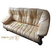 Комплект мебели Judith. Трехместный кожаный диван и 2 кресла