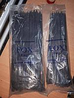 Кабельные стяжки (хомуты) нейлоновые под маркировку 8х380 мм 100шт черные