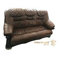 Комплект Bordeaux. Кожаный трехместный диван, двухместный диван и кресло