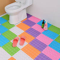 DIY Ковровые конфеты Цвета Пластиковые коврики для ванной Массаж Ковровое покрытие