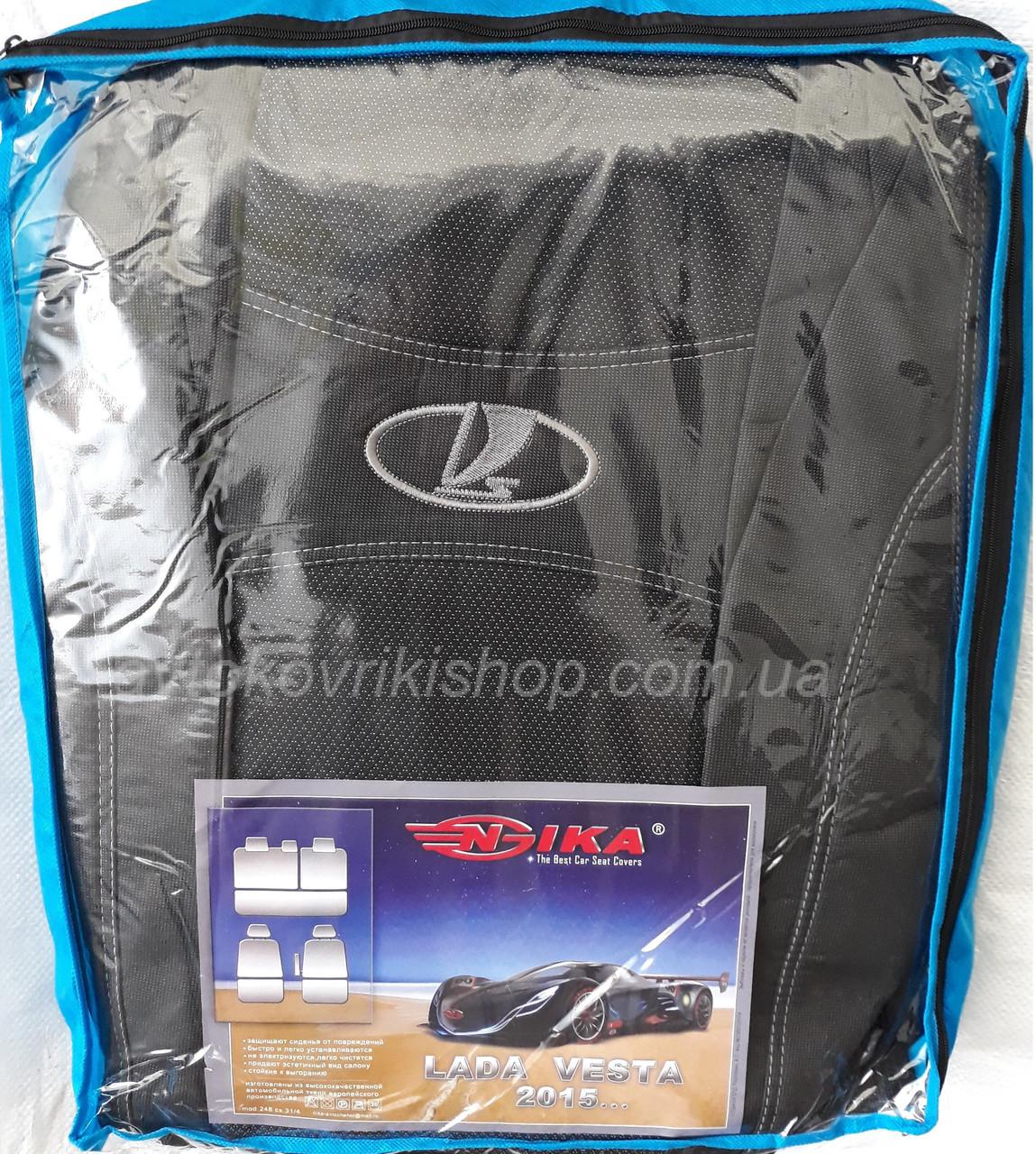 Авто чехлы Lada Vesta 2015- Nika