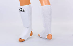 Защита ног (голень+стопа) чулочного типа DAE MA-0007D-S (полиэстер, р-р S-8-12лет, белый)