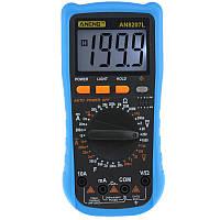 ANENG AN8207L Digital Мультиметр 2000 Счетчик переменного тока/постоянного тока Токоизмерительный резистор Частотомер Тестер диодов и