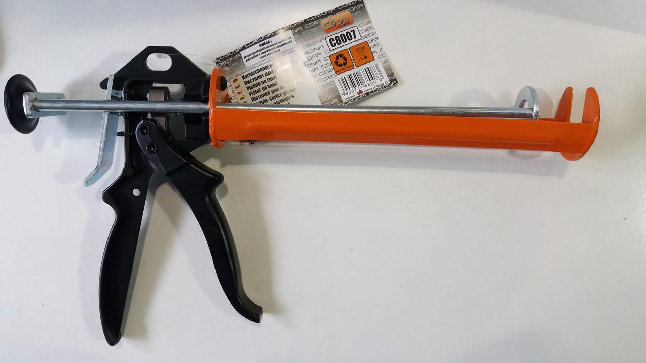 Пистолет для силикона усиленный 240 мм Corona exclusive, C8007