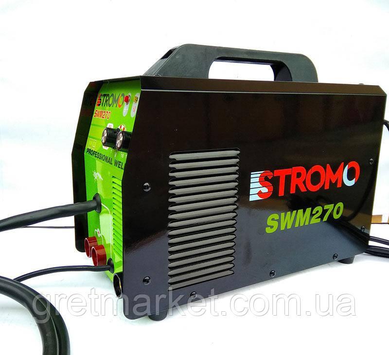 Сварочный инверторный полуавтомат STROMO SWM 270