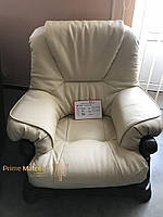Комплект кожаной мебели 5030. Трехместный диван и 2 кресла