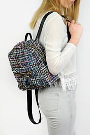Рюкзак женский из ткани букле