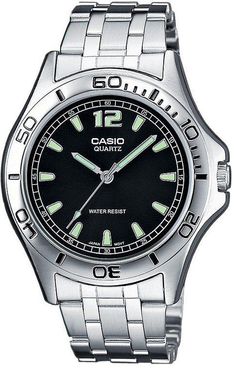 Мужские наручные часы Casio MTP-1258PD-1AEF серебристый