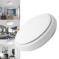12W Радарная индукция LED Потолочный светильник для скрытого монтажа Лампа Светильник для Ванная комната Гостиная AC220V