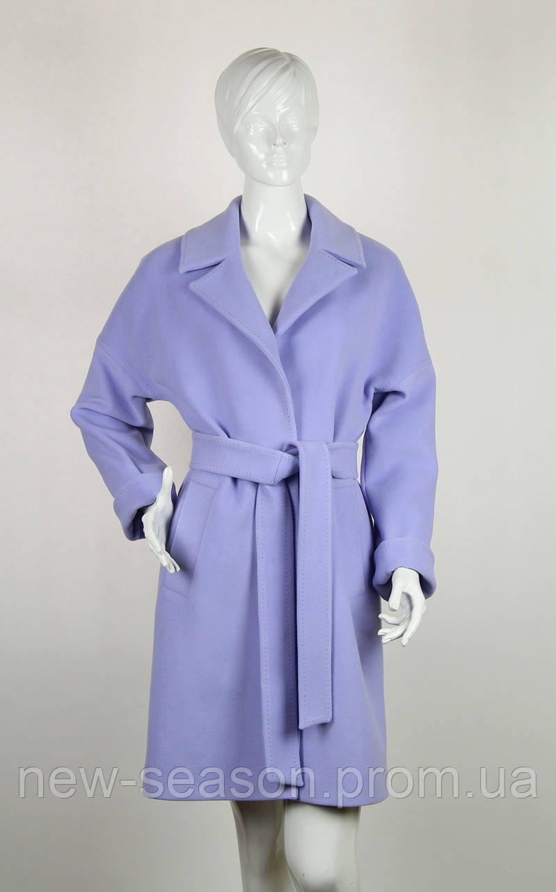 Пальто шерстяное Nina Vladi 127 лаванда