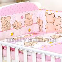 """Защита в кроватку  """"Друзі ведмедики"""" , фото 1"""
