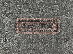 Нашивка Fashion цвет коричневый 50x18 мм