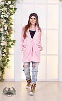 Женское пальто шерстяное (осень-весна)