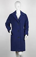 Пальто шерстяное Nina Vladi 127 новый синий