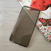 Черный тонкий силиконовый чехол для iphone 6/6S, фото 1