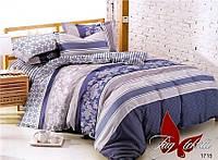 Комплект постельного белья с компаньоном 1715 полуторный (TAG поплин (1,5-sp)-030)
