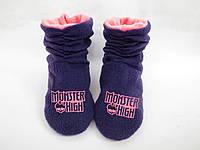 """Тапочки Ботиночки """"Monster High"""" / домашние тапочки детские"""