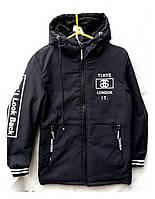 Куртка детская весна-осень для мальчиков с 140 до 164