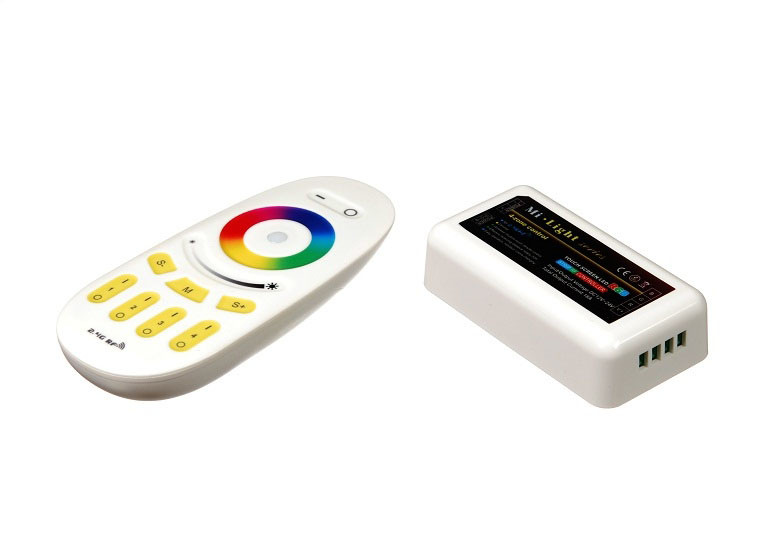 Контроллер RF RGB 18A, 4 зоны, White (Touch)
