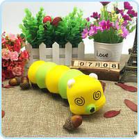 Симпатичный мультфильм SquishsThe Caterpillar Красочный подарок Caterpillar для детей