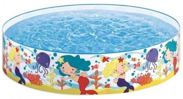 🔥✅ Детский каркасный бассейн Intex 58458 183x38 см Русалочки