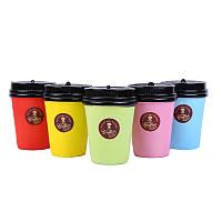 Кофейная чашка Squishy Cartoon Milk Чай Напиток Кукла Цепь Шарм Медленный Восходящий Игрушечный Подарок Случайный Цвет