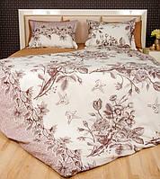 Постельное белье Lotus Premium Grace кремовое двухспальный евро размер