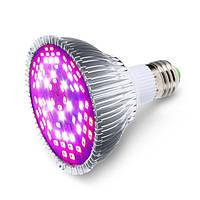 E27 30W 40 LED Full Spectrum Grow Light Лампа Blub для цветочных растений Hydroponics Vegetables AC85-265V