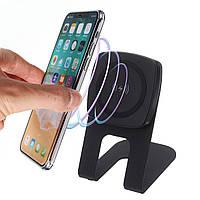 10W 9V Qi Беспроводное быстрое настольное зарядное устройство для настольного компьютера для iPhone X Plus Samsung S8