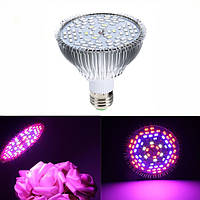 GLIME E27 45W 78 LED Полный спектр Grow Light Light Лампа Blub для растений Hydroponics Vegetables AC85-265V