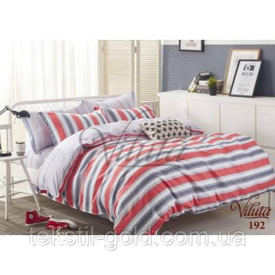 Двуспальный комплект постельного белья ТМ VILUTA  твил-сатин 192